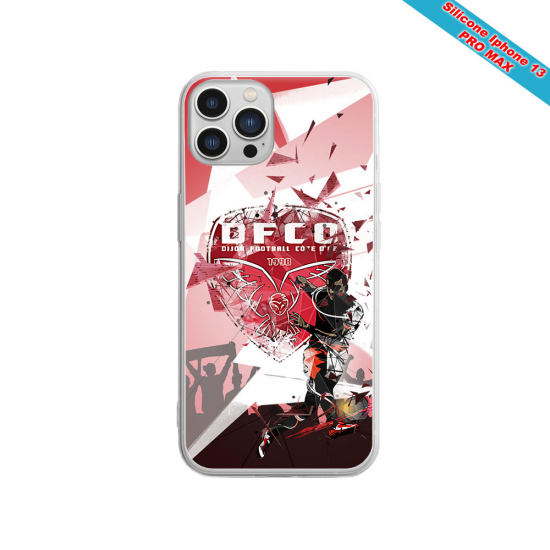 Coque silicone Iphone SE 2020 Fan de Sons Of Anarchy obsidienne
