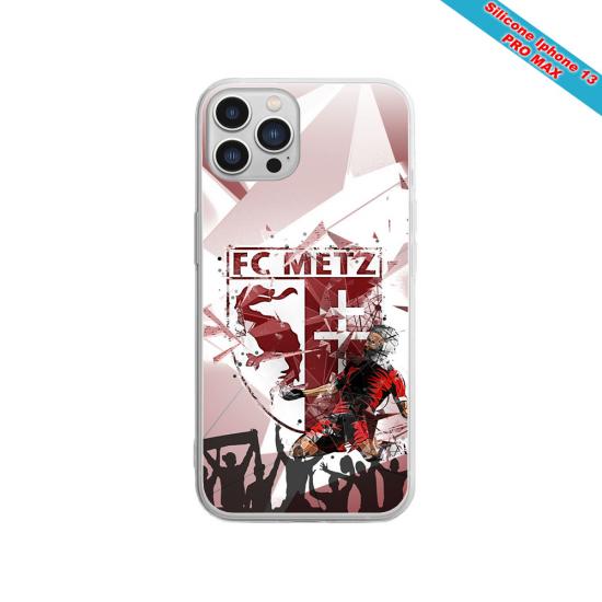 Coque silicone Iphone SE 2020 verre trempé Fan de Sons Of Anarchy obsidienne
