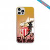 Coque silicone Iphone 12 Mini Fan de Sons Of Anarchy obsidienne
