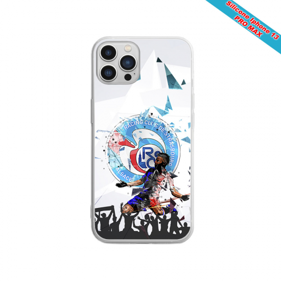 Coque silicone Iphone 12 PRO MAX Fan de Sons Of Anarchy obsidienne