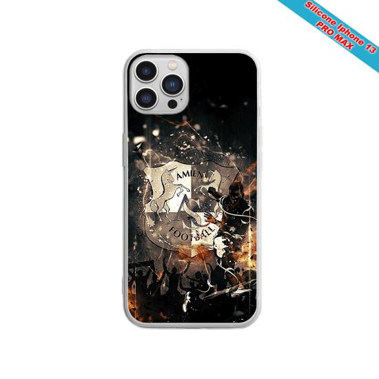 Coque silicone Galaxy A10S Fan de Sons Of Anarchy obsidienne