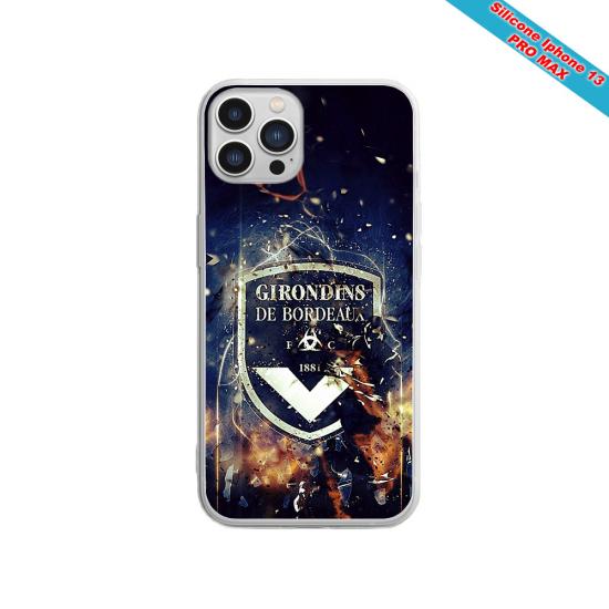 Coque silicone Galaxy A20E Fan de Sons Of Anarchy obsidienne