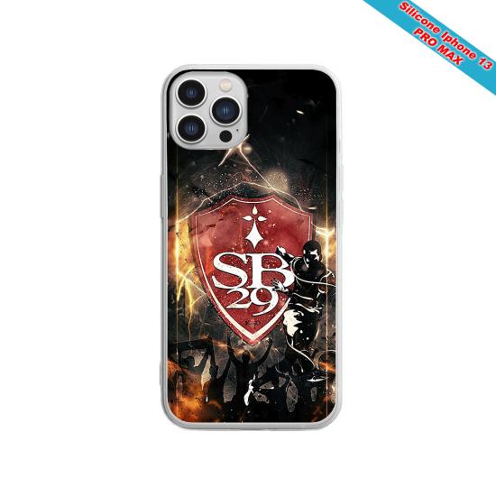 Coque silicone Galaxy A21 Fan de Sons Of Anarchy obsidienne