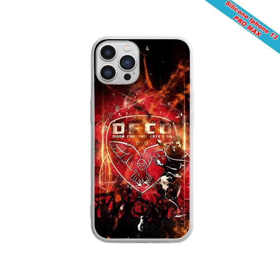 Coque silicone Galaxy A21S Fan de Sons Of Anarchy obsidienne