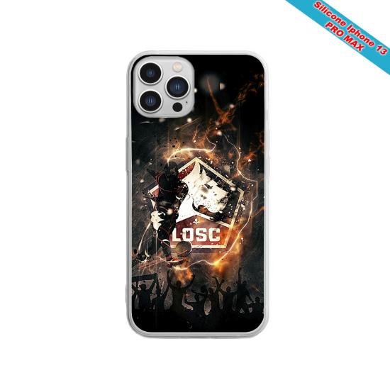 Coque silicone Galaxy A30S Fan de Sons Of Anarchy obsidienne
