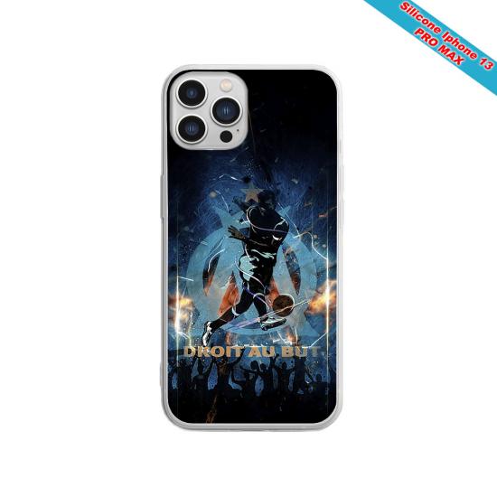 Coque silicone Galaxy A40 Fan de Sons Of Anarchy obsidienne