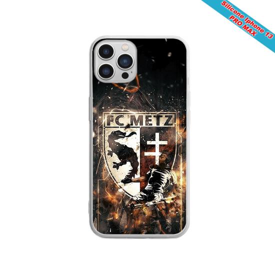 Coque silicone Galaxy A40S Fan de Sons Of Anarchy obsidienne