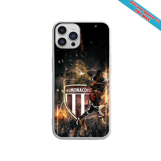 Coque silicone Galaxy A41 Fan de Sons Of Anarchy obsidienne