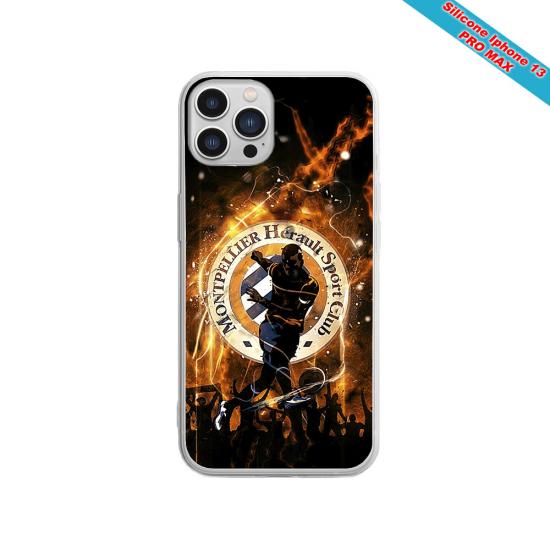 Coque silicone Galaxy A50 Fan de Sons Of Anarchy obsidienne