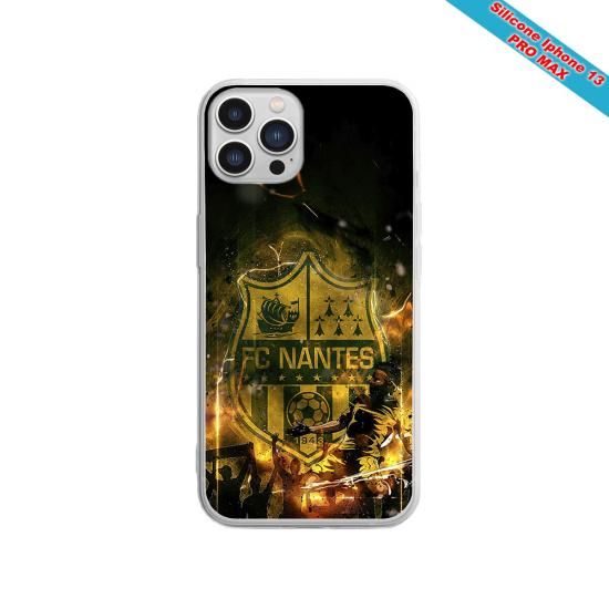 Coque silicone Galaxy A51 Fan de Sons Of Anarchy obsidienne