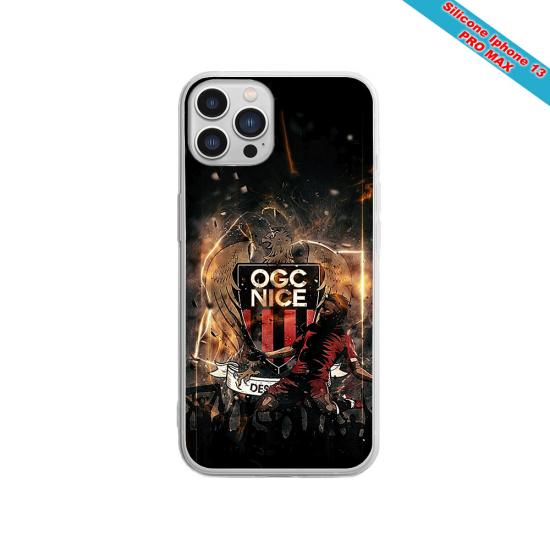 Coque silicone Galaxy A70 Fan de Sons Of Anarchy obsidienne