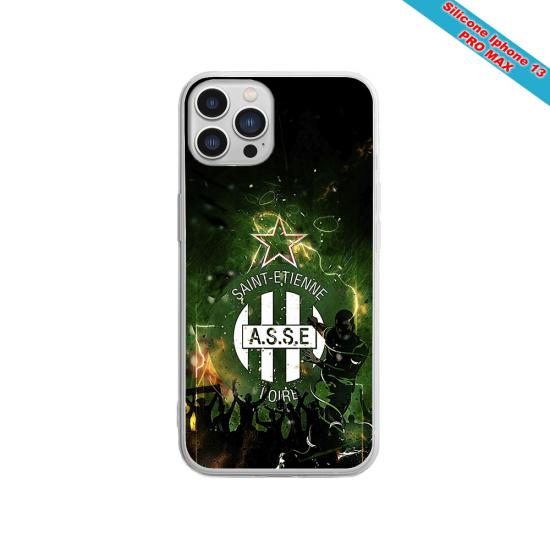 Coque silicone Galaxy J4 2018 Fan de Sons Of Anarchy obsidienne