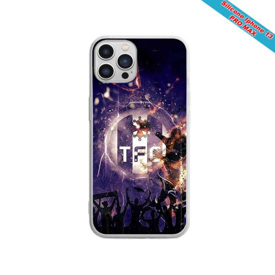 Coque silicone Galaxy J4 PLUS Fan de Sons Of Anarchy obsidienne