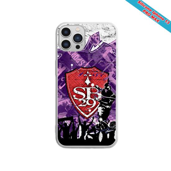 Coque silicone Galaxy J6 Fan de Sons Of Anarchy obsidienne