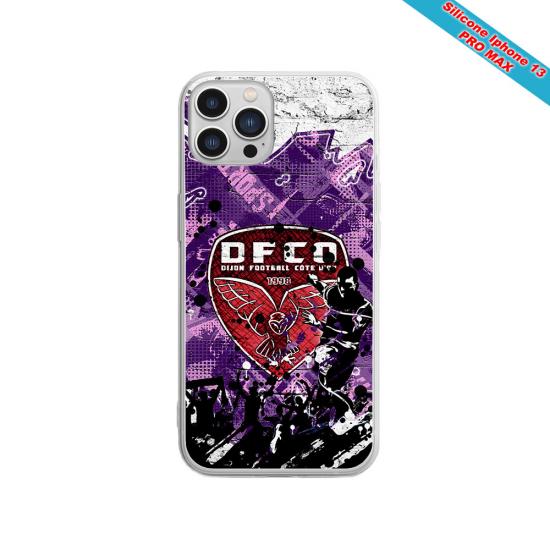 Coque silicone Galaxy J6 PLUS Fan de Sons Of Anarchy obsidienne