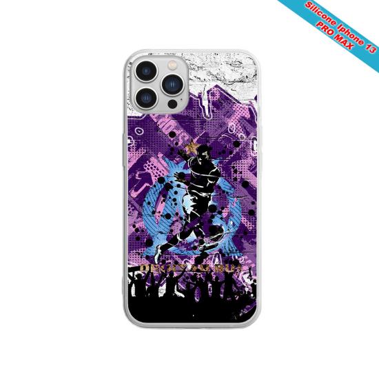Coque silicone Galaxy J7 2018 Fan de Sons Of Anarchy obsidienne