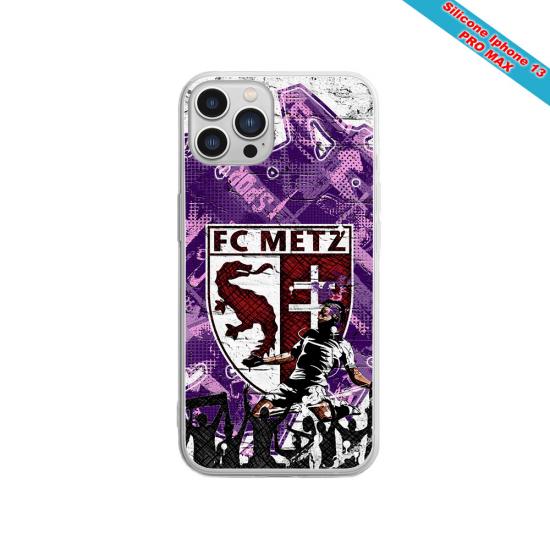 Coque silicone Galaxy J8 Fan de Sons Of Anarchy obsidienne