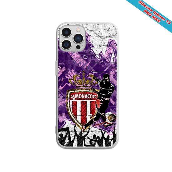 Coque silicone Galaxy M10 Fan de Sons Of Anarchy obsidienne