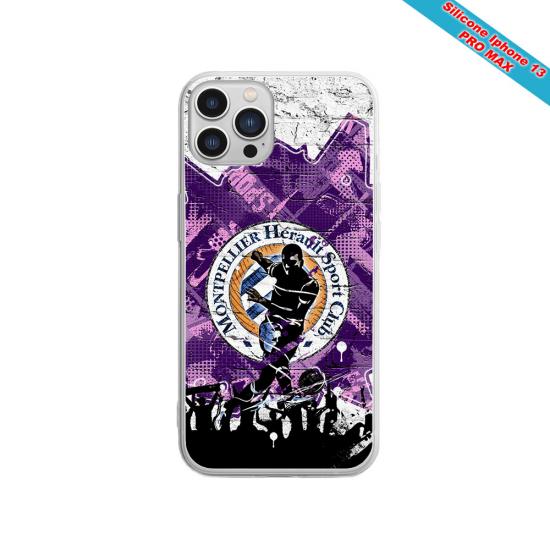 Coque silicone Galaxy M11 Fan de Sons Of Anarchy obsidienne