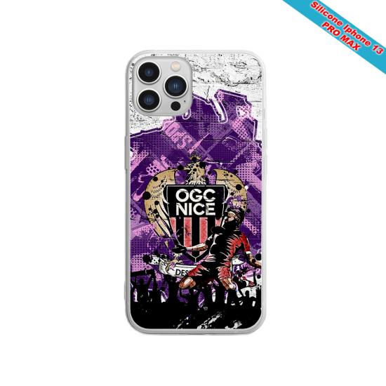 Coque silicone Galaxy M30 Fan de Sons Of Anarchy obsidienne