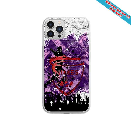 Coque silicone Galaxy M31 Fan de Sons Of Anarchy obsidienne
