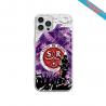 Coque Silicone Galaxy S6 EDGE Fan de Sons Of Anarchy obsidienne