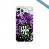 Coque Silicone Galaxy S7 EDGE Fan de Sons Of Anarchy obsidienne