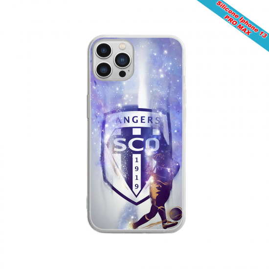 Coque Silicone Galaxy S9 Fan de Sons Of Anarchy obsidienne