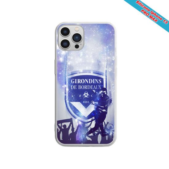 Coque Silicone Galaxy S9 verre trempé Fan de Sons Of Anarchy obsidienne