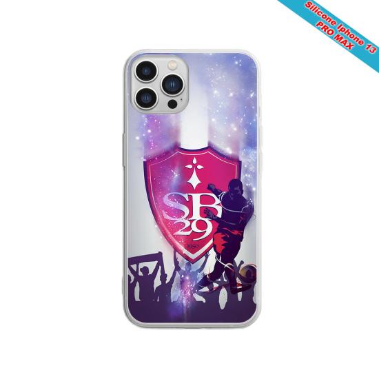 Coque Silicone Galaxy S9 PLUS Fan de Sons Of Anarchy obsidienne