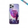 Coque Silicone Galaxy S9 PLUS verre trempé Fan de Sons Of Anarchy obsidienne