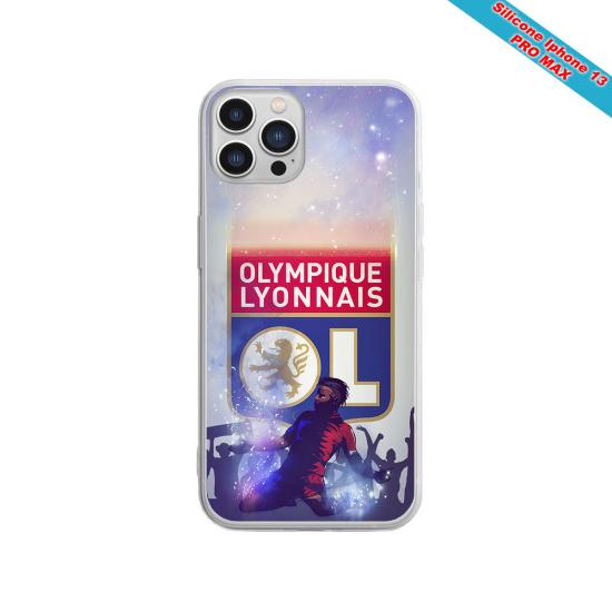 Coque Silicone Galaxy S10 verre trempé Fan de Sons Of Anarchy obsidienne