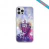 Coque Silicone Galaxy S20 verre trempé Fan de Sons Of Anarchy obsidienne