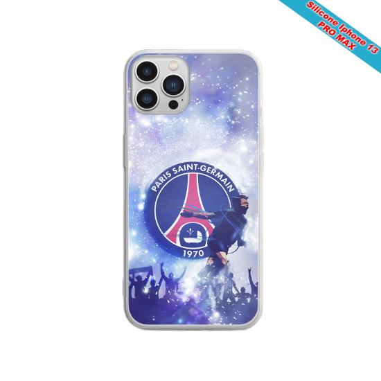 Coque Silicone Galaxy S20 PLUS verre trempé Fan de Sons Of Anarchy obsidienne