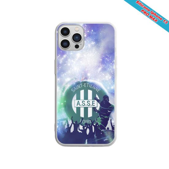 Coque silicone Galaxy S21 PLUS Fan de Sons Of Anarchy obsidienne