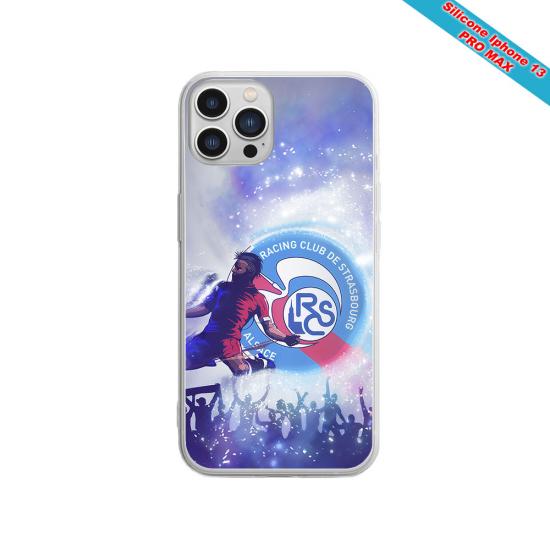 Coque silicone Galaxy S21 ULTRA Fan de Sons Of Anarchy obsidienne