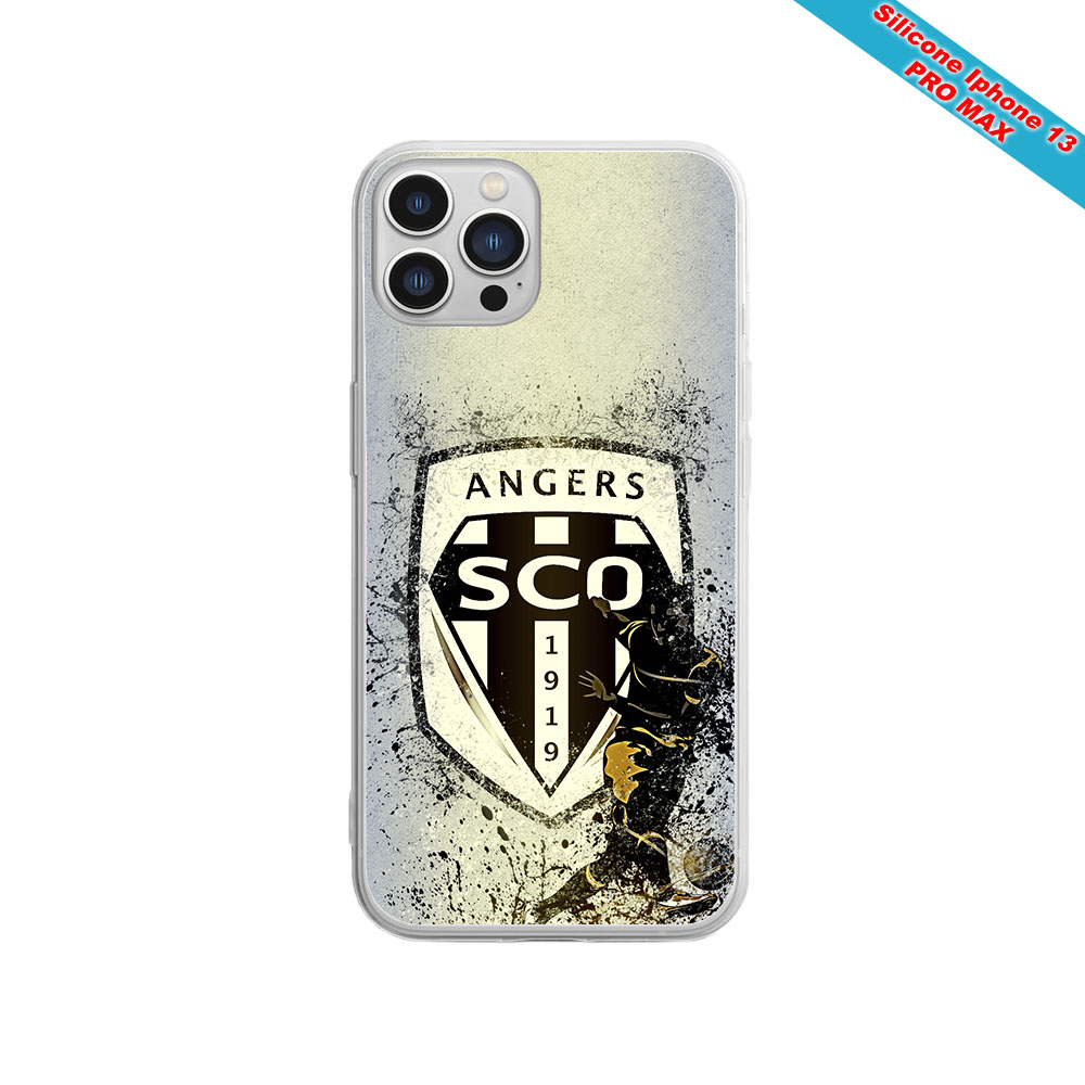 Coque Silicone Note 10 Fan de Sons Of Anarchy obsidienne