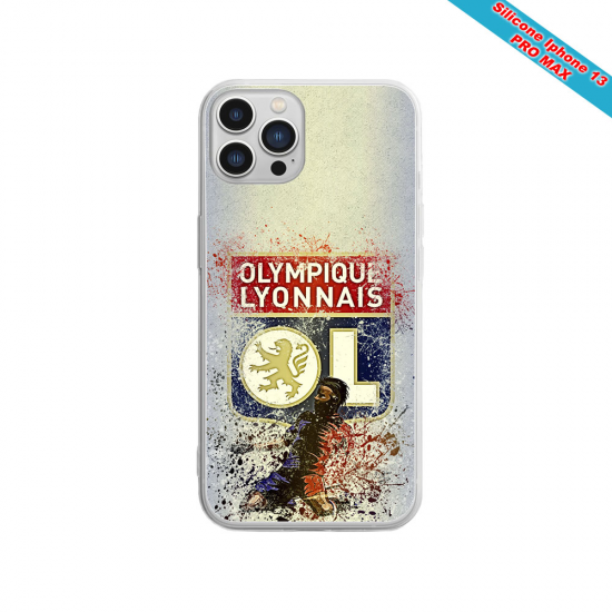 Coque silicone Huawei Mate 20 Fan de Sons Of Anarchy obsidienne