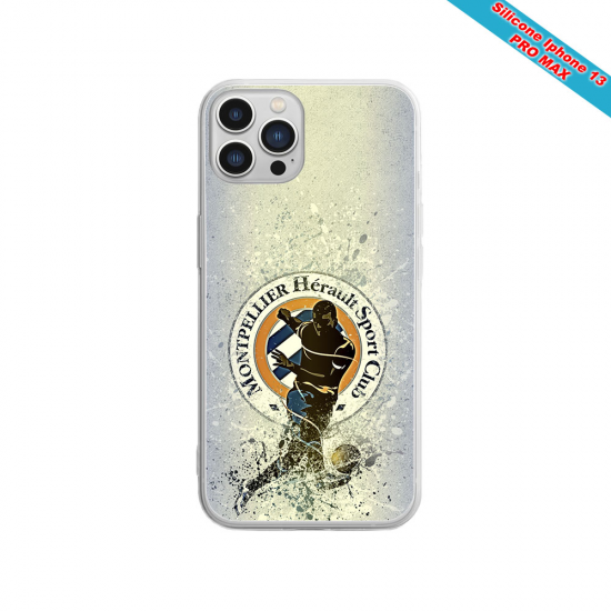 Coque silicone Huawei Mate 30 LITE Fan de Sons Of Anarchy obsidienne