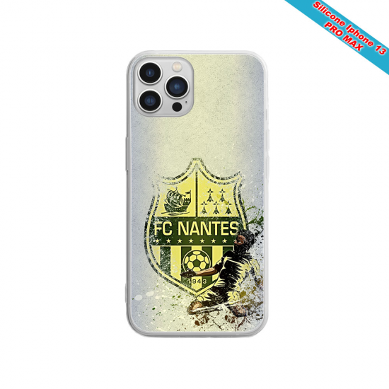 Coque silicone Huawei P8 Fan de Sons Of Anarchy obsidienne