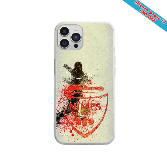 Coque silicone Huawei P8 lite 2017 Fan de Sons Of Anarchy obsidienne