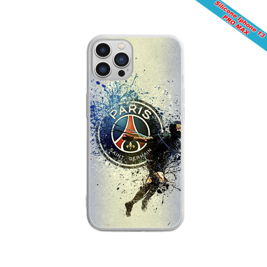 Coque silicone Huawei P9 Fan de Sons Of Anarchy obsidienne