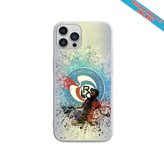 Coque silicone Huawei P10 PLUS Fan de Sons Of Anarchy obsidienne
