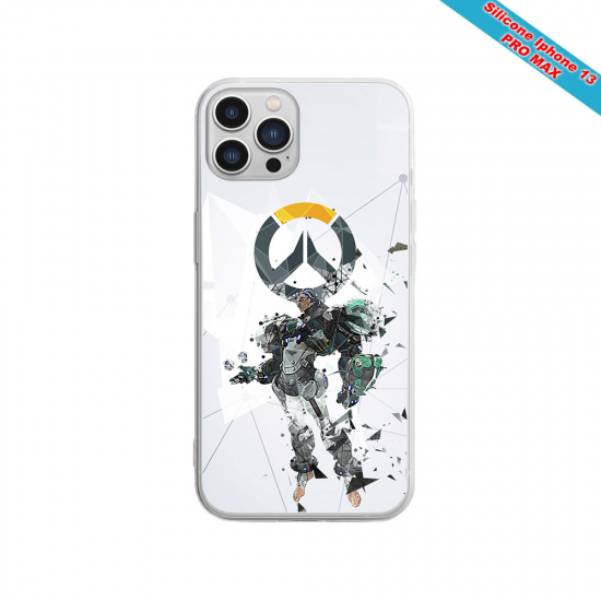 Coque silicone Huawei P20 Fan de Sons Of Anarchy obsidienne