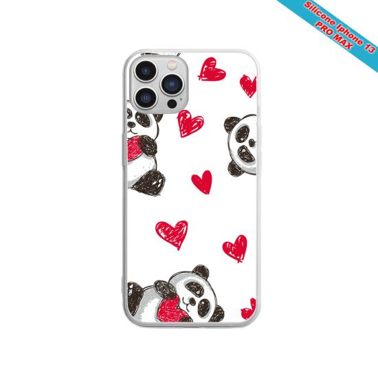 Coque silicone Huawei P20 LITE 2019 Fan de Sons Of Anarchy obsidienne