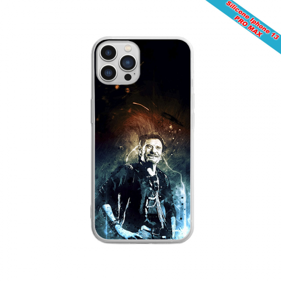 Coque silicone Huawei P20 PLUS Fan de Sons Of Anarchy obsidienne