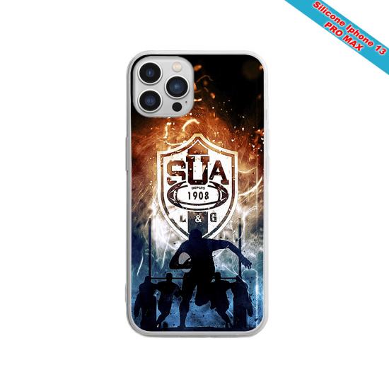 Coque silicone Huawei P30 Fan de Sons Of Anarchy obsidienne