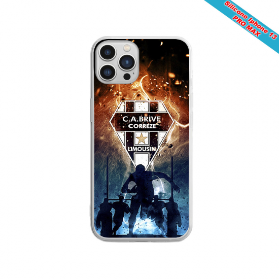 Coque silicone Huawei P30 PRO Fan de Sons Of Anarchy obsidienne