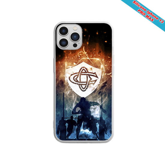 Coque silicone Huawei P40 Fan de Sons Of Anarchy obsidienne