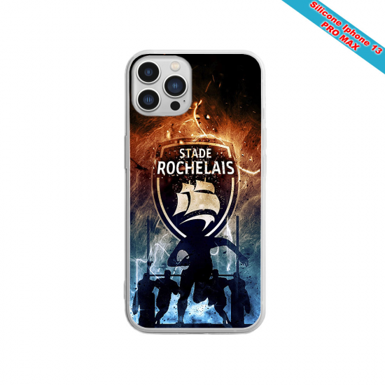 Coque silicone Huawei P40 Lite E Fan de Sons Of Anarchy obsidienne